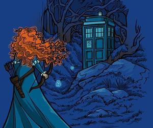 brave, doctor who, and tardis image