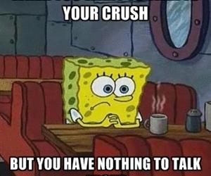 crush and sad image