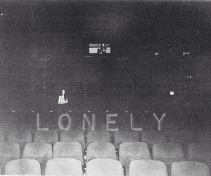 alone, black and white, and boys image