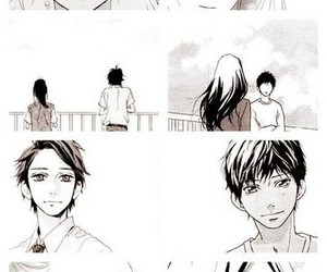 manga, ao haru ride, and day shooting stars image