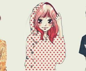 kawaii, :-*, and ao haru ride image