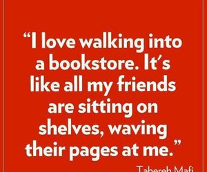 books, bookstore, and friends image