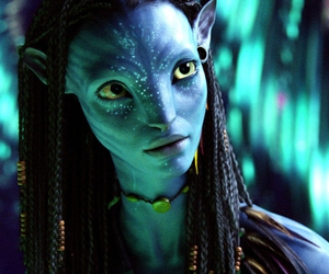 avatar, blue, and girl image