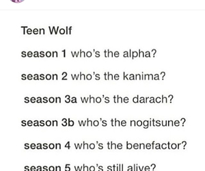 true, teen wolf, and swag image