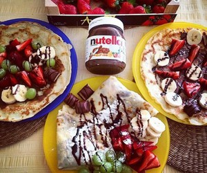 food, nutella, and sweet image