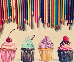 art, delicious, and draw image