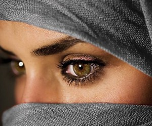 eyes and woman image