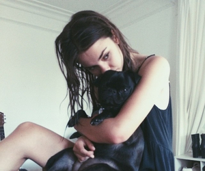 gorgeous, maia mitchell, and pug image