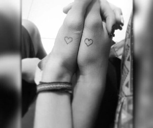 amor, tattoo, and love image