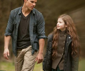 jacob black, renesmee cullen, and Taylor Lautner image