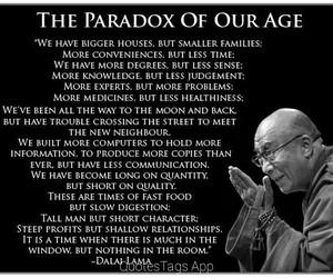 dalai lama, quotes, and Paradox image