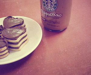 starbucks, chocolate, and frappuccino image