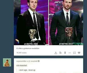 funny, tumblr, and chris evans image