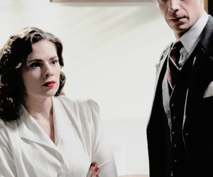 agent carter and edwin jarvis image
