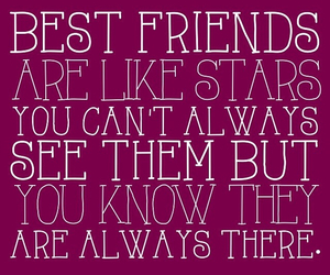 best friends, stars, and bff image