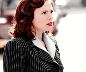hayley atwell, peggy carter, and agent carter image