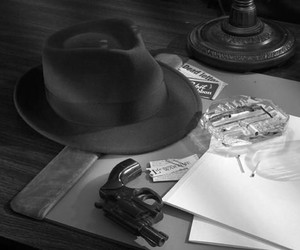 film noir, murder mystery, and private investigator image