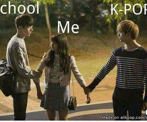 kpop, funny, and school image
