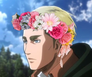 commander, eyebrows, and flower crown image