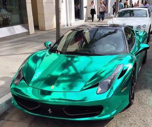 turquoise car image