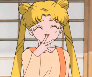 sailor moon, anime, and icon image