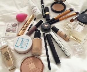 makeup, girl, and girly image