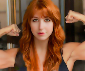 redheads, biceps, and beyond beautiful image