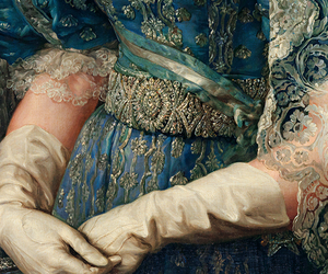 art, blue, and details image