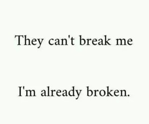broken, break, and sad image