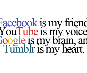facebook, tumblr, and google image