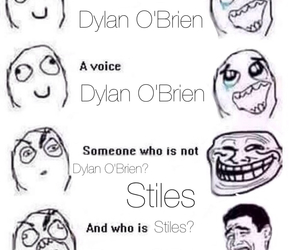 dylan, o'brien, and stiles image