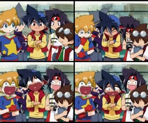 beyblade, funny moment, and beyblade v-force image