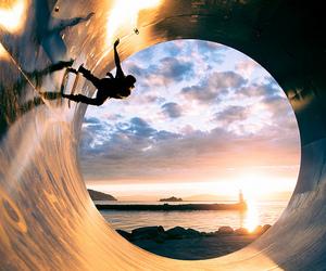 skate, boy, and sun image