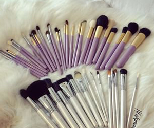 Brushes, cute, and fancy image