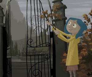 coraline movie and book image