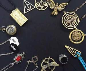 book, harry potter, and necklace image