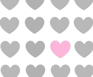 heart, pink, and wallpapers image