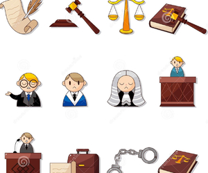Law, lawyers, and law student image