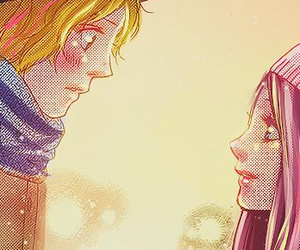 anime, boy, and color image