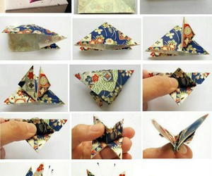 butterfly, origami, and diy image