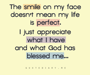 smile, quotes, and god image
