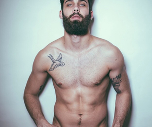 beard, boy, and delicious image