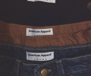 aa, aesthetic, and american apparel image