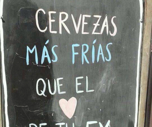 ex, beer, and frases image