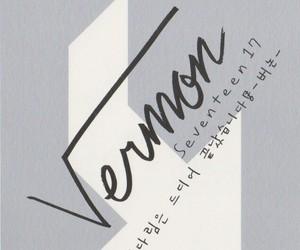 Seventeen and vernon image