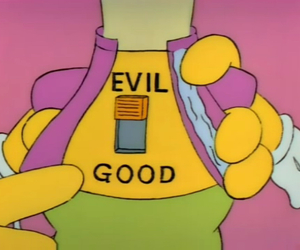 evil, good, and me image