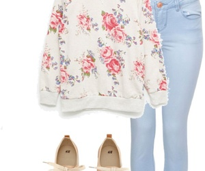 casual, Polyvore, and dressup image