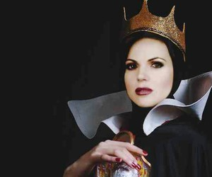 once upon a time, evil queen, and tv serie image