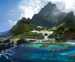 park and jurassic world image