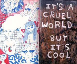 cruel, world, and cool image